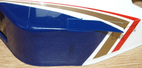 Tamiya 58179 Williams FW18 Bodyshell