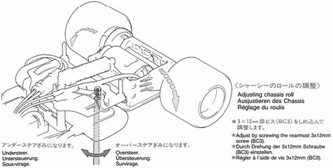 Tamiya F-102 rear drivetrain suspension